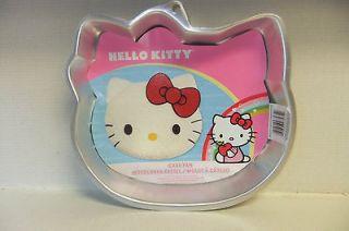 WILTON Hello Kitty Sanrio Co. Cake Pan Mold Insert Instructions ~NEW