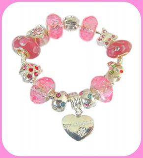 hello kitty charm bracelet more options select charm size of bracelet