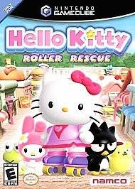 HELLO KITTY ROLLER RESCUE NINTENDO GAMECUBE COMPLETE