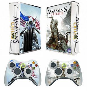 211 vinyl decal Skin Sticker for Xbox360 slim and 2 controller skins