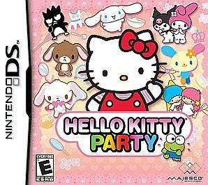 Hello Kitty Party Nintendo DS Brand New Factory Sealed