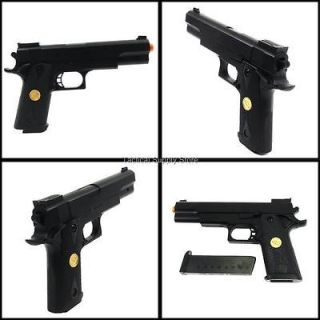 BLACK OPS M 1911 A1 SPRING AIRSOFT HAND GUN PISTOL 6mm BB sniper rifle
