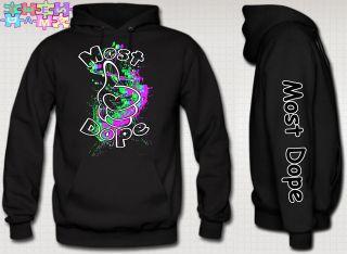 hoodie most dope shirt most dope mac miller hip hop music dope dope te