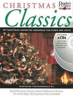 Digest Christmas Classics Piano Intermediate Sheet Music Book CD NEW