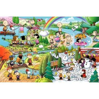 Apollo sha Jigsaw Puzzle 10 169 Peanuts Snoopy Seasons (1000 Pieces)