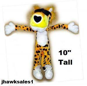 Chester Cheetah Plush Doll Stuffed Animal Toy Cool ( 10 inches Tall