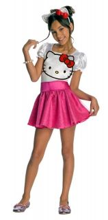 Child Girls Hello Kitty Cute Pink Tutu Dress Halloween Costume