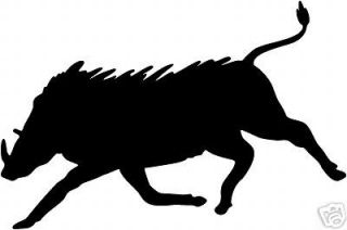 Wild Boar Decal ST #8 Outdoors Hog Hunting Stickers 6