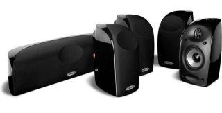 Polk Audio Speaker System Surround Sound Home Theater Stereo Bookshelf