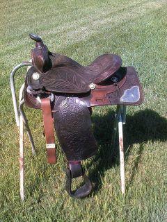 15 VINTAGE SOUTHERN SADDLERY WESTERN HORSE SADDLE