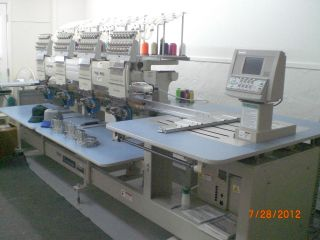Home based Embroidery Business   Barudan Embroidery Machine