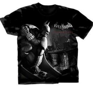 Batman Arkham City Avenge Over City DC Comics Adult T Shirt S XXL