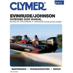 Evinrude/Johnson 85 300 HP Two Stroke Outboards (Includes Jet Drive