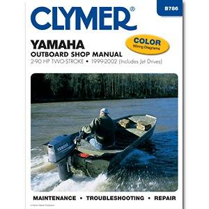 Bonus Clymer Clymer 2 90 HP Two Stroke Outboard & Jet Drive 1999 20