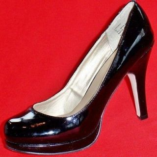 NEW Womens MADDEN GIRL FAWWN Black Patent Fashion Pumps High Heels