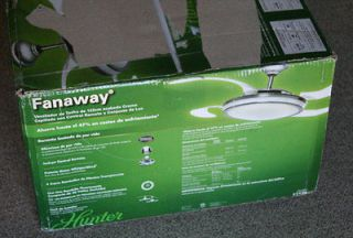 Hunter ceiling fans remote control on popscreen - Hunter fanaway ...