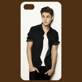 Justin Bieber ## cool design Apple IPHONE 4 / 4S White Case Cover