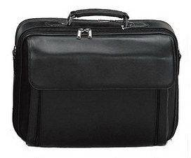 Leather Laptop Case Briefcase Bag for 15 HP SONY COMPAQ Notebooks