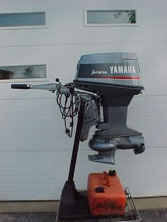 YAMAHA OUTBOARD MOTOR 50 HP. JET DRIVE 1992 VERY GOOD CONDITION USED