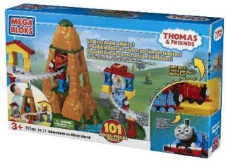 Mega Bloks Thomas Steam Engine Misty Island Building Se