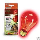 Zilla Reptile Night Light Red Heat Bulb 75 watt Lamp