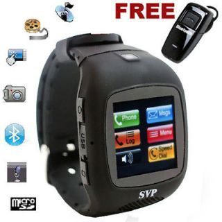 Micro Touch Screen Camera  GSM Watch Cell Phone [aT&T / T Mobile