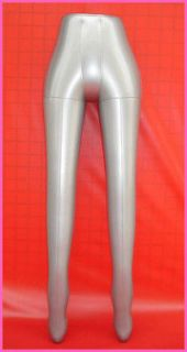 Leg Pants Trousers Stocking Inflatable Mannequin Dummy Torso Model