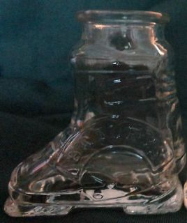 Irish Cream Shot Glass Ski Boot or Toothpick Holder marked #3 Whiskey