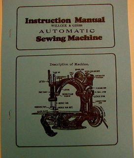 willcox gibbs sewing machine in Sewing Machines