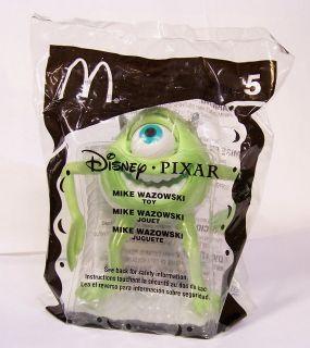 Happy Meal 5 Disney Pixar Monsters Inc. Mike Wazowski Toy # 5