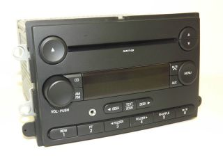 Ford F 250 F 350 Super Duty SD 2008 Radio AM FM  CD w iPod Aux 8C3T