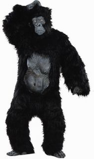 Monkey Ape Gorilla Outfit Halloween Costume Suit