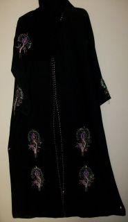 Abaya Dubai Arabian Black Sheela Hijab Kurti Tunic Salwar Kameez
