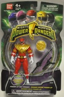 MIGHTY MORPHIN POWER RANGERS 2010 POWER UP RED RANGER