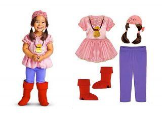 Izzy Costume Jake & Neverland Pirates Halloween Size 2T