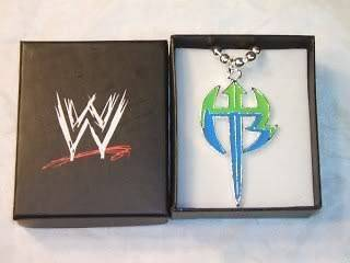 Jeff Hardy Green Logo Pendant Necklace with Chain WWE