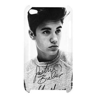 Bieber Believe Autograph Signature iPod Touch 4G Hard Shell Case JBA37