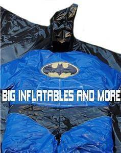 YOUTH SIZE COMMERCIAL SUPER HERO FOAM FILLED SUMO SUITS