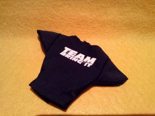 The Rock TEAM BRING IT Shirt for WWE Mattel Figures Quality Real Cloth