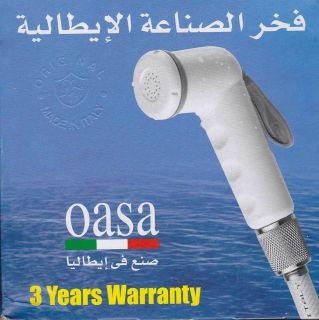ITALIAN TOILET PORTABLE MUSLIM SHATTAF BIDET DIAPER SPRAYER WALL