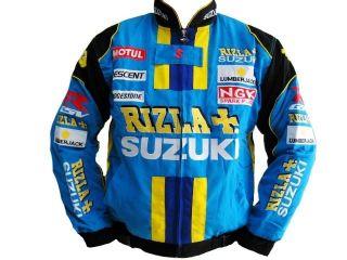 Jacket SUZUKI GSXR MOTO RACING Black NEW HOT