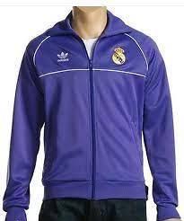 RARE~Adidas REAL MADRID spain Track jersey jacket football soccer