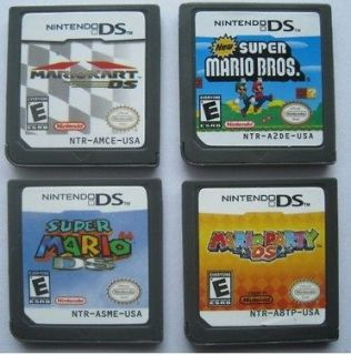 Mario Kart + Super Mario Bros + Mario Party + Mario 64 DS Game for DSi