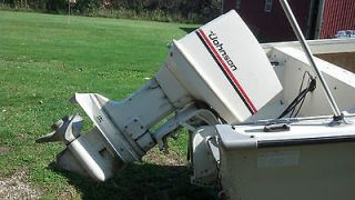 1980 Johnson 70 hp outboard boat motor