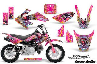 AMR RACING GRAPHICS STICKER DECALS MOTO HONDA CRF50 CRF 50 PITBIKE ED