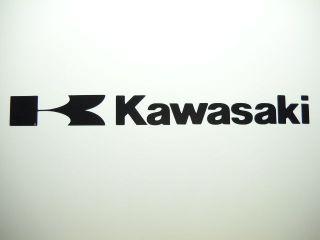 kawasaki vinyl decal window or bumper sticker