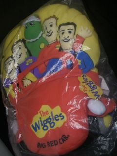 The Wiggles Big Red Car Plush Large Pillow New in Sealed Bag!!!