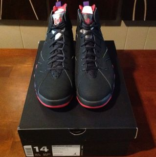 DS Air Jordan 7 Retro 2012 Raptors $235 Shipped W/Receipt Hare Flints
