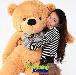 CUTE GIANT 63 TEDDY BEAR HUGE SOFT STUFFED BIG PLUSH