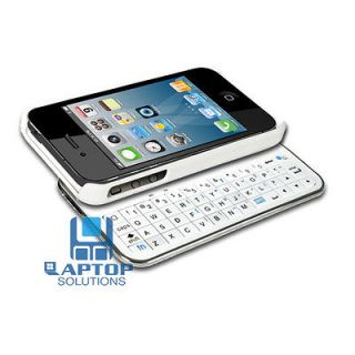 Wireless Bluetooth Ultra thin Slide out Keyboard Case for i Phone 4 4S